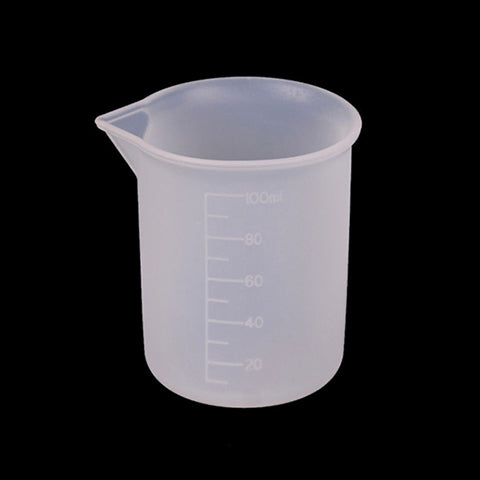 Reusable Silicone measuring mixing beaker (100ml)