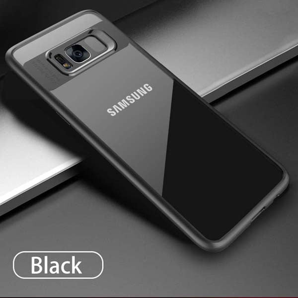 1455881c47 Luxury Clear Case For Samsung Galaxy S8 S8 Plus Fitted Cases Slim  Transparent Capinhas PC &