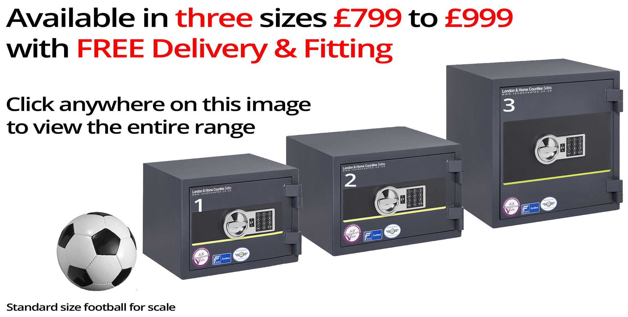 Putney 60K Range of Safes