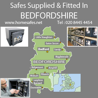 Thinking of a safe for your Bedfordshire home or business?