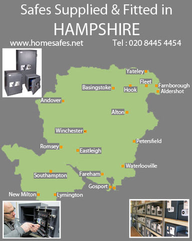 Thinking of a safe for your hampshire home or business?