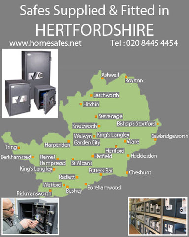 Thinking of a safe for your hertfordshire home or business?