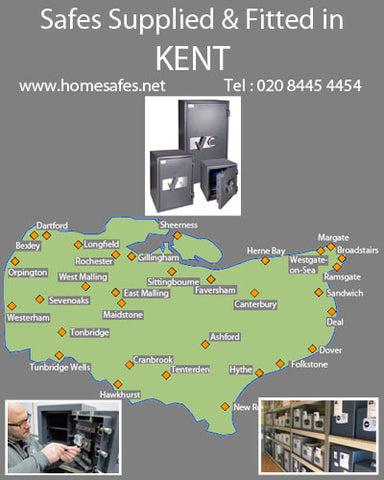 Thinking of a safe for your kent home or business?