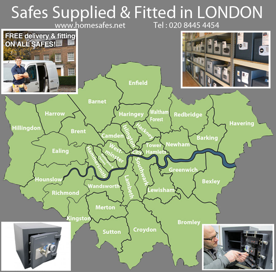 Thinking of a safe for your london home or business?