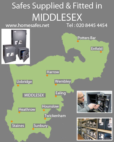 Thinking of a safe for your middlesex home or business?