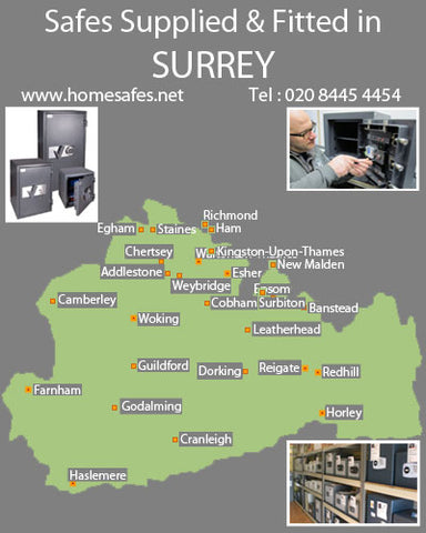 Thinking of a safe for your Surrey home or business?