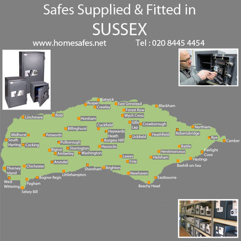 Thinking of a safe for your sussex home or business?