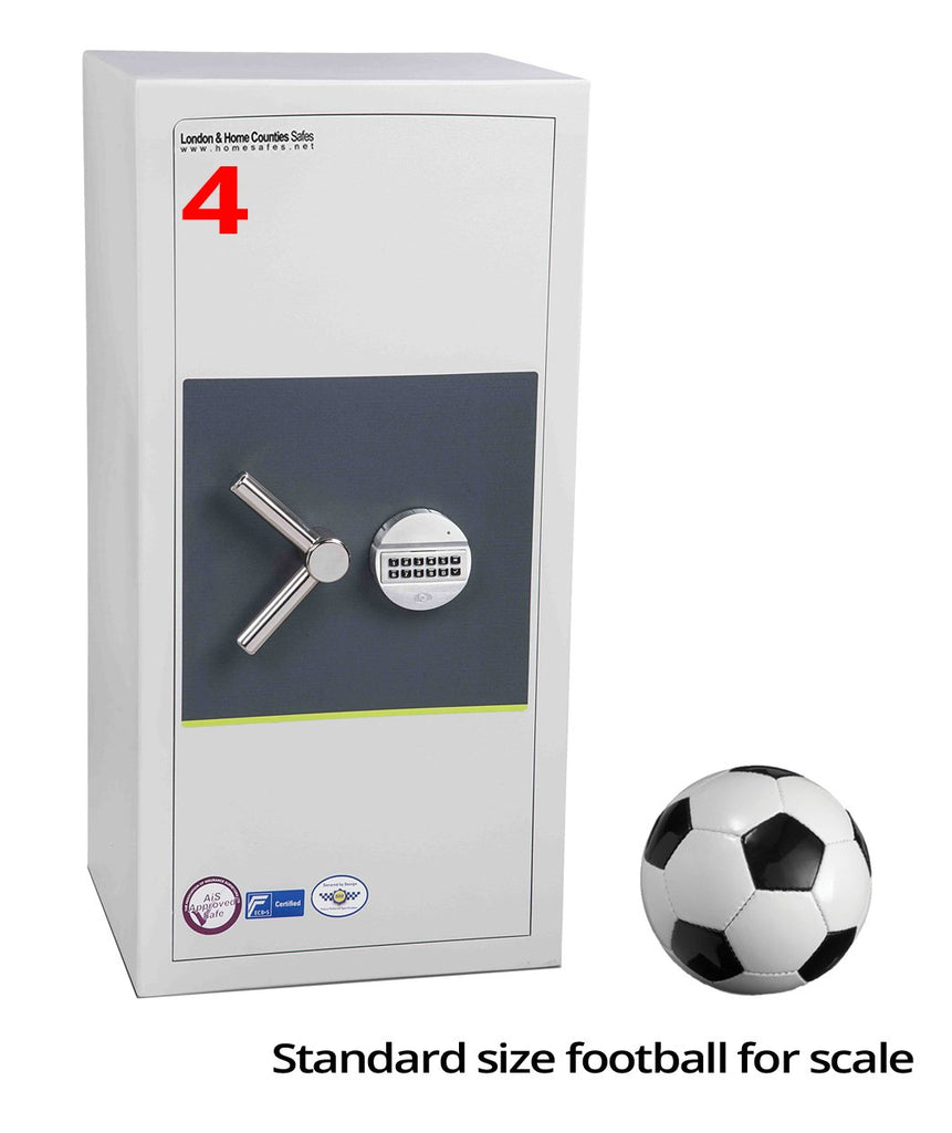 London Grade 1 (Size 4) Digital Safe, London & Home Counties Safe Company, London Eurograde 1