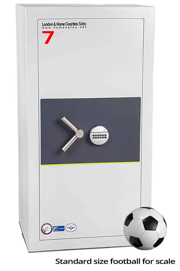 London Grade 1 (Size 7) Digital Safe, London & Home Counties Safe Company, London Eurograde 1
