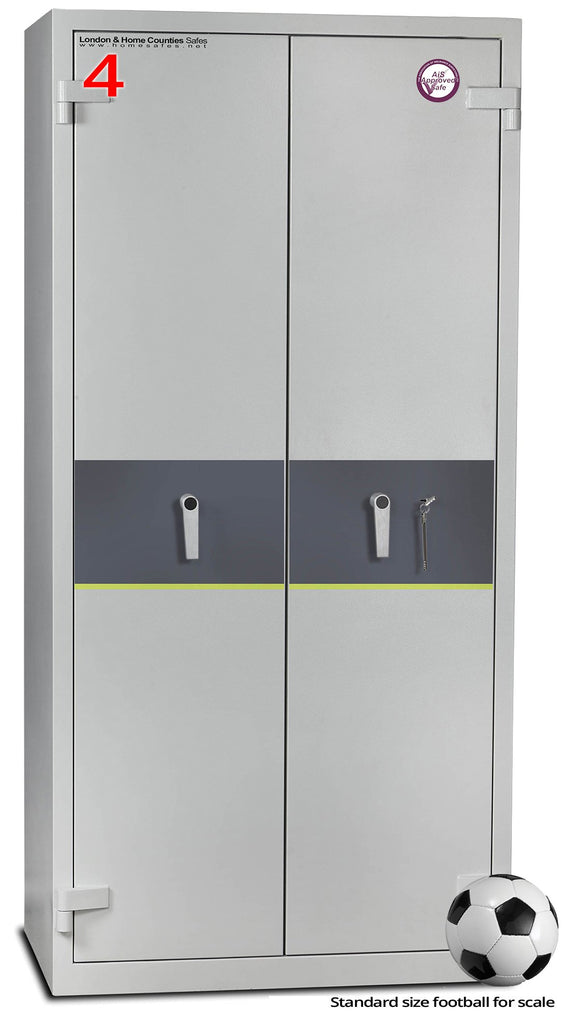 Torch T100 Fire Safe (Size 4) Keylocking, London & Home Counties Safe Company, Torch T100 Fire Safe