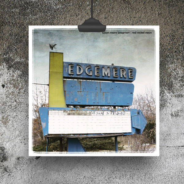 Abandoned Drive-In Theater Photograph