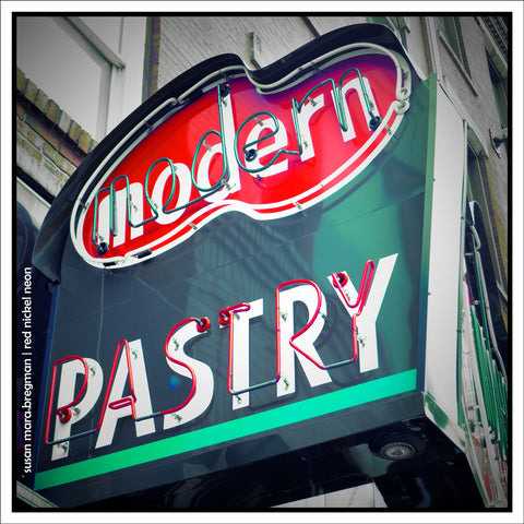 Modern Pastry Photograph