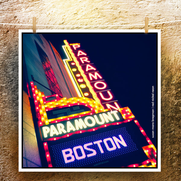 Boston Paramount Theater Photograph