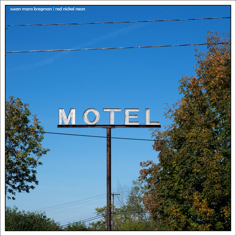 Mid-Century Motel Sign Photo