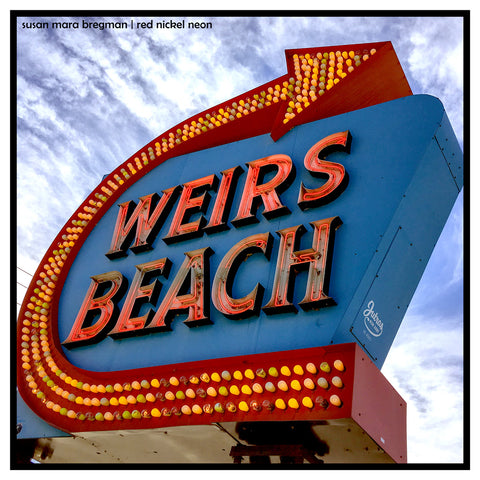 Photo of Weirs Beach Sign