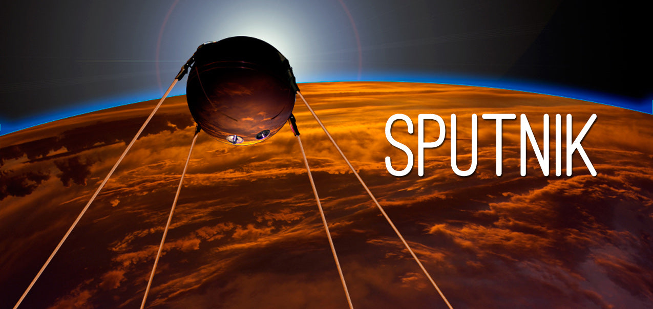 Created to mark the 50th Anniversary of the launch of Sputnik in 2007  by Gregory R Todd