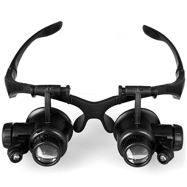 Survival Tool Magnifier with 2 LED Lights
