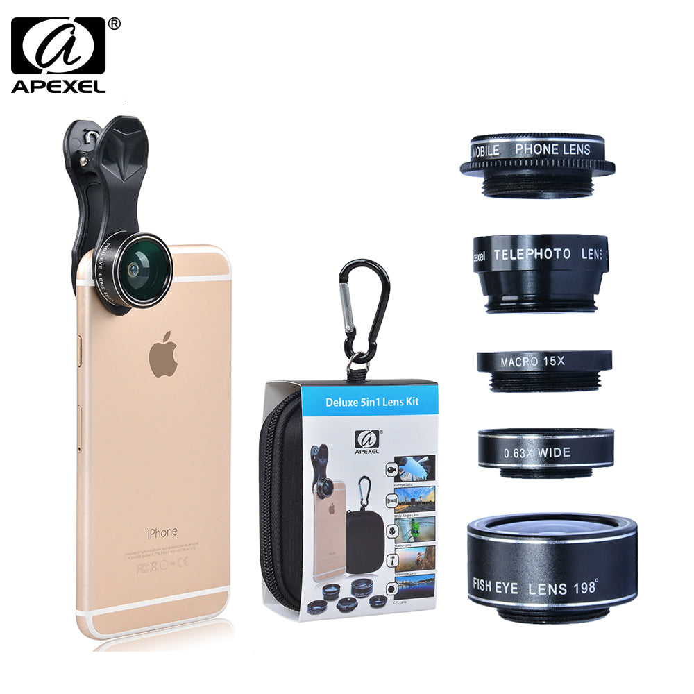 Affordable Smartphone Zoom Lens - iPhone/Android Zoom-In Lens