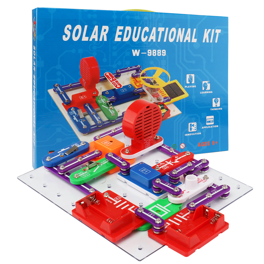 Electronic building blocks science education toys creative physics experiment technology children's learning toys W9889