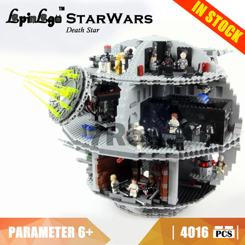 Star Wars Death Star Compatible with Lego Blocks - Educational Building Bricks Toy for Children