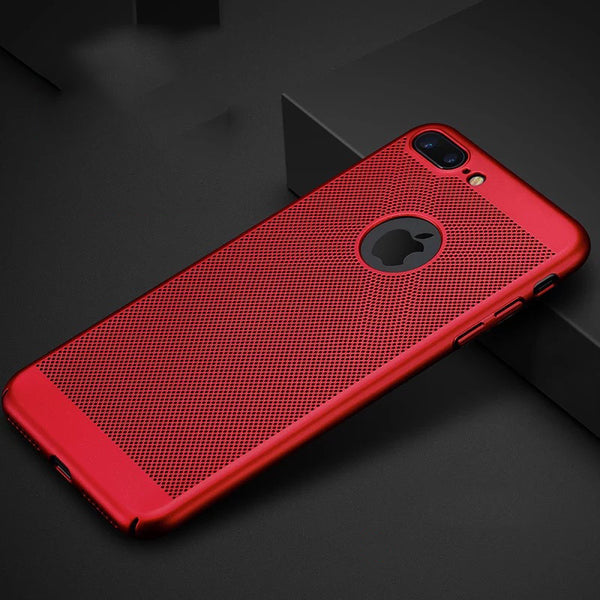New 2017 Ultra Thin Honeycomb Advanced Cooling Back Case For iPhone - Elegant Case