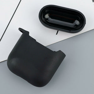 Money Heist Silicone Matte Black Cover For Apple AirPods