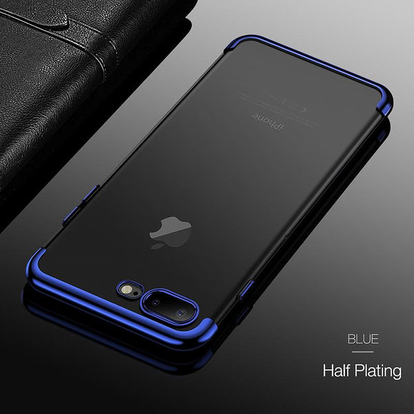 Clear View Protective Case + FREE iPhone Ring Holder - Elegant Case