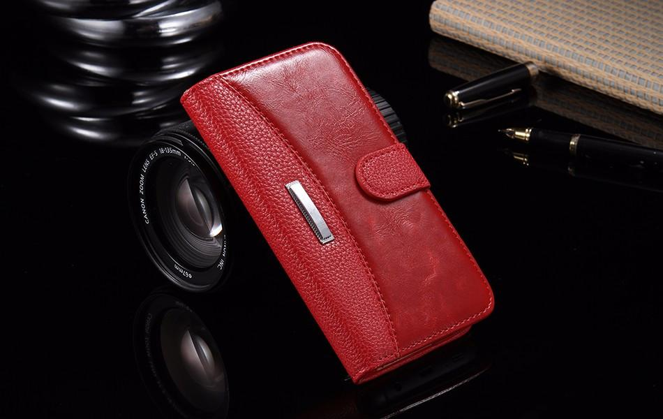 Flip Leather Case For iPhone 6 With Stand Card Holders - Best iPhone Cases