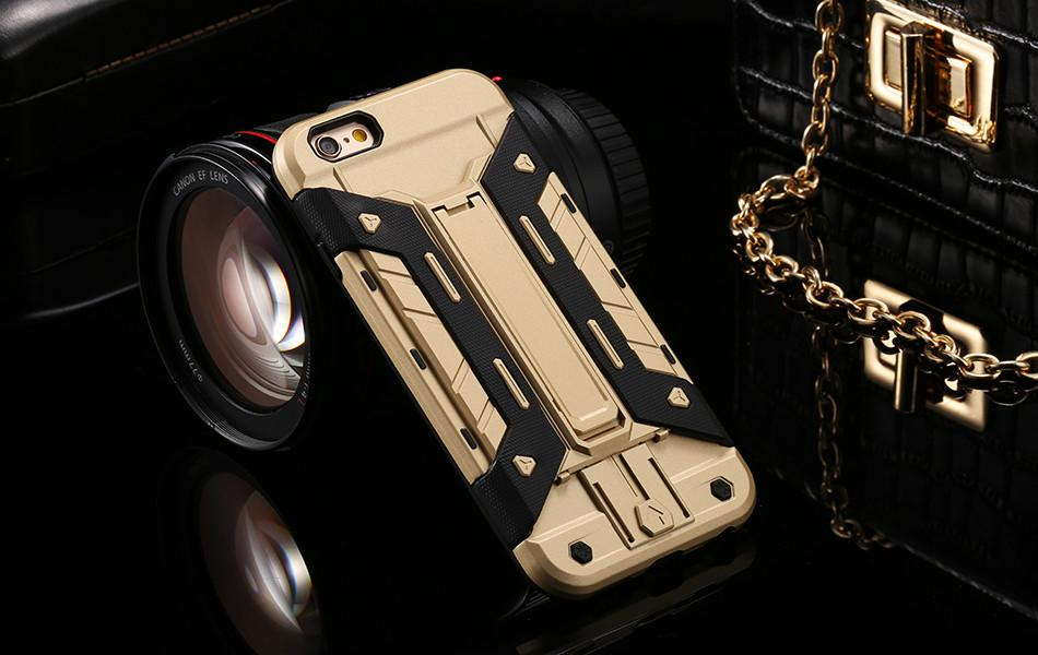 Heavy Duty Kickstand Back Cover for iPhone - Best iPhone Cases