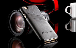 Leather Case Back Cover For iPhone - Elegant Case