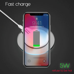 Lightning Fast iPhone Wireless Charger - Elegant Case
