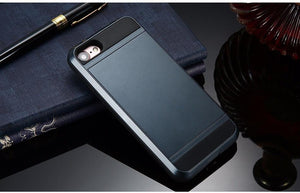Luxury Hybrid Case with Hidden Card Slot - Elegant Case
