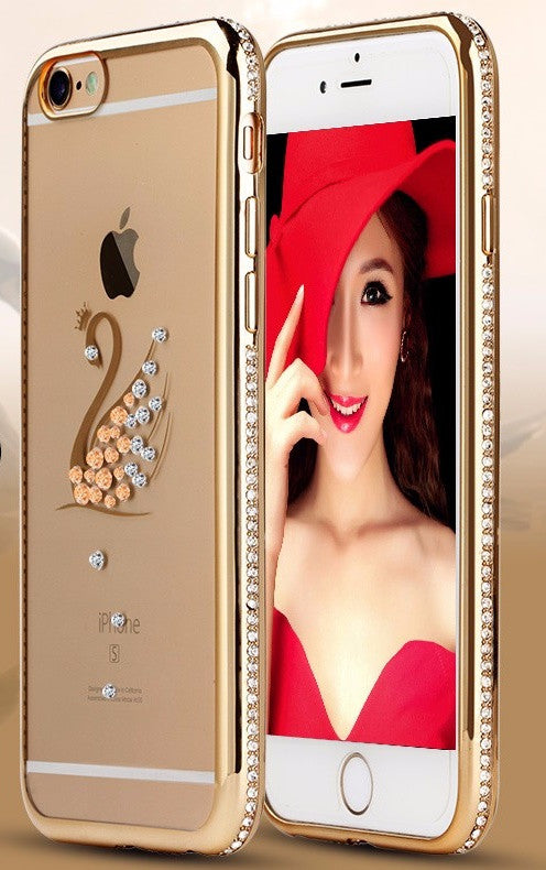 Silicone Case For iPhone Luxury 3D Diamond Cover - Best iPhone Cases