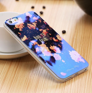 Beautiful Modern Blue Ray Light Case For iPhone - Elegant Case