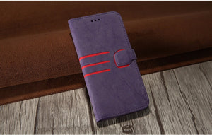 Matte Flip PU Leather Case For iPhone - Best iPhone Cases