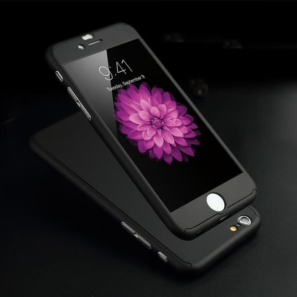 360 Protection Full Body Coverage iPhone Case + Free Clear Screen Film - Elegant Case