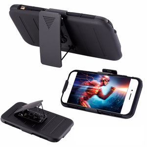 3 in 1 Military Armor Kickstand Cover Case For Apple iPhone - Best iPhone Cases