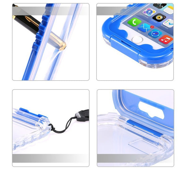 Waterproof Heavy Duty Hybrid Case - Elegant Case