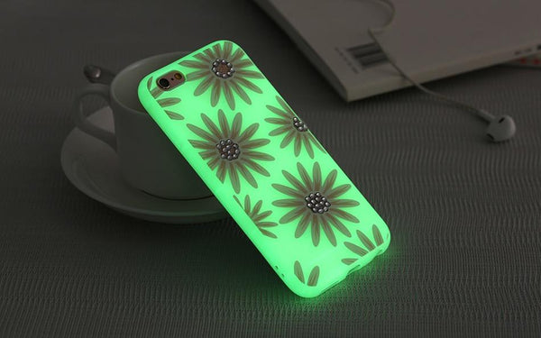 Luminous Glitter Case For iPhone - Elegant Case