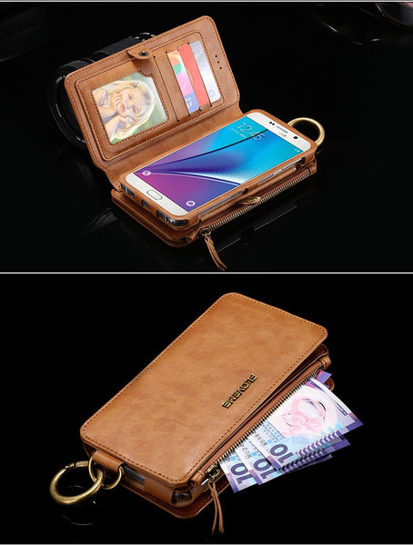 Original Wallet Case For iPhone Vintage PU Leather - Elegant Case