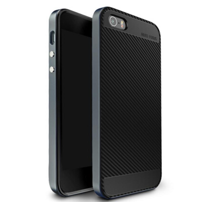 iPhone 5 / 5S Silicone Back Cover - Elegant Case