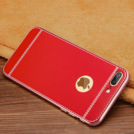 Luxury Soft TPU Back Cover Case For iPhone - Elegant Case