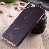 Marble Stone Hard PC Case For Apple iPhone - Elegant Case