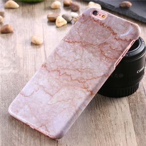 Marble Stone Hard PC Case For Apple iPhone - Best iPhone Cases