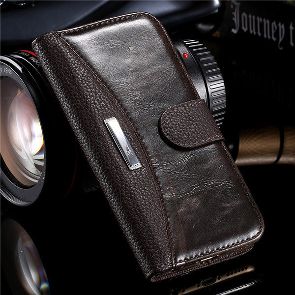 Business Style Leather Case For Apple iPhone - Best iPhone Cases