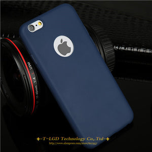 Candy Colors Soft TPU Silicon Case For iPhone - Elegant Case