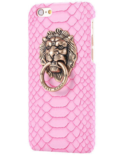 3D Lion Head Case For iPhone - Elegant Case