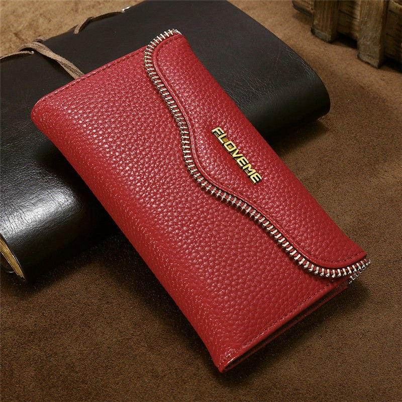Wallet Bag + Back Cover 2 in 1 Magnetic Case For iPhone - Elegant Case