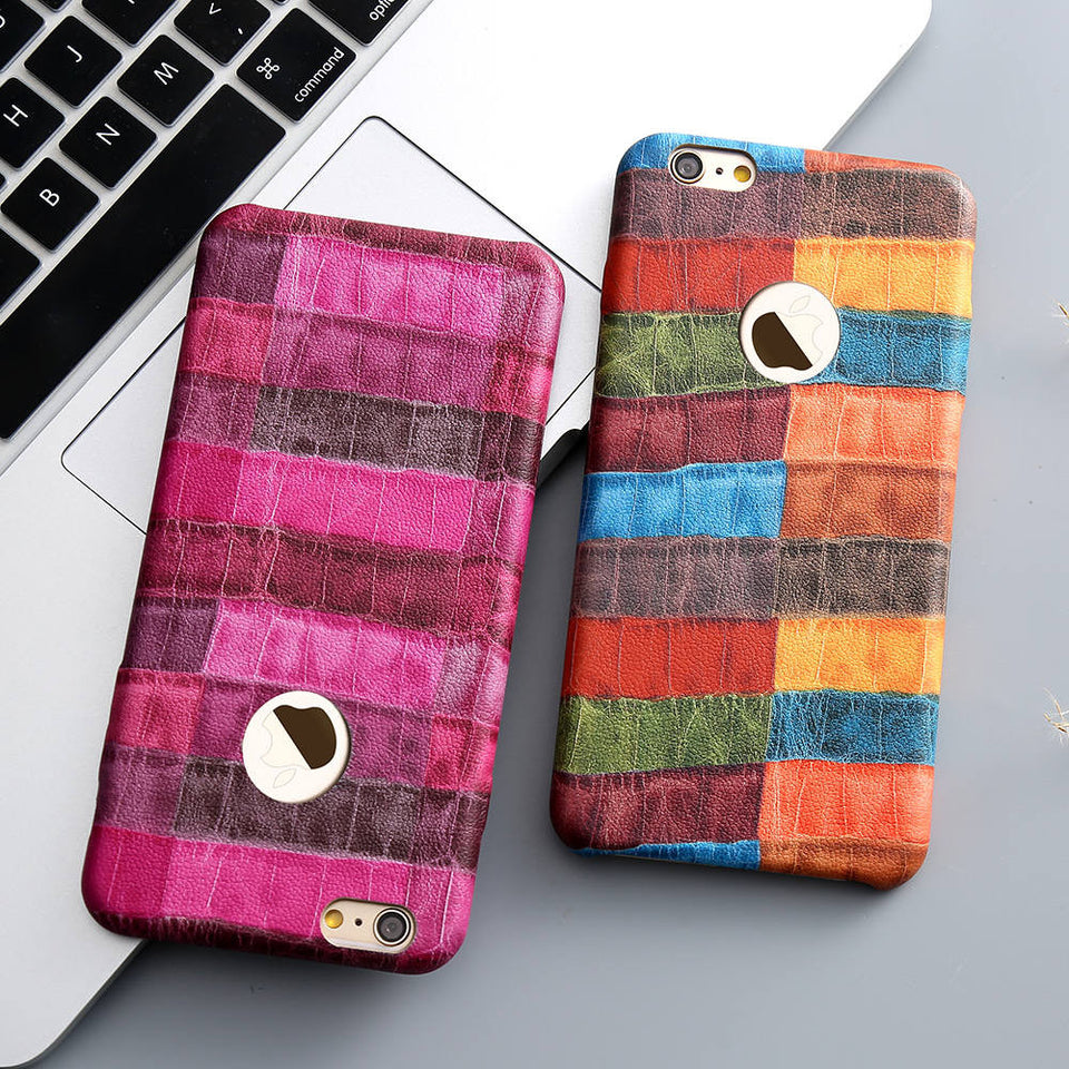 New Crocodile Skin PU Leather Case For iPhone - Best iPhone Cases