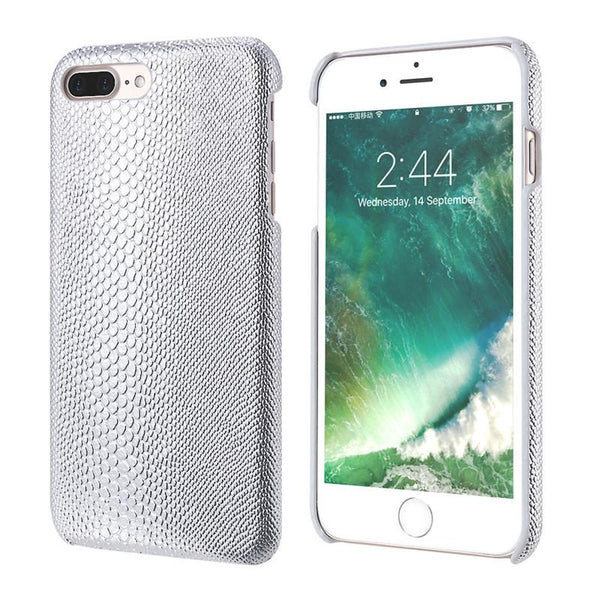Hard Back Cover Lizard Pattern Protective Case for iPhone 7 Plus - Elegant Case